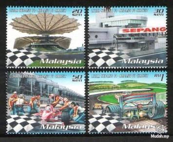 Mint Stamp Grand Prix Sepang Circuit Malaysia 1999