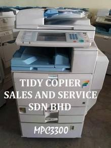 Mpc3300 machine color photocopier for sale