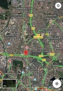 {Suitable to Petrol Station}Jalan SentulKL land for sale