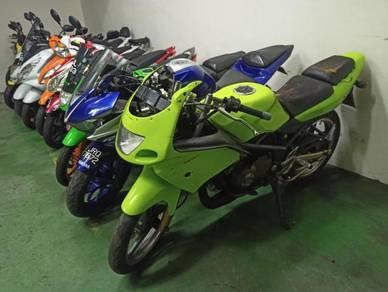 Kawasaki Kr 150 Rr 150 kr150 Rr cash ontrod 1unit