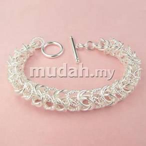 ABBS9-S009 Noble Silver 925 Bracelet Mens Fashion