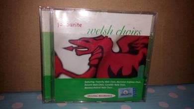 CD Favorite Welsh Choirs