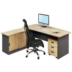 6ft Writing Executive Table Set OFGM1870 shah alam