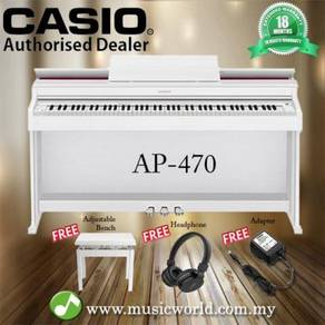 Casio ap-470 88 key celviano digital piano white