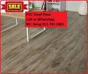 Wood Look PVC 3MM Vinyl Floor b7uj