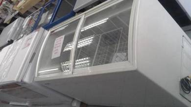 Glass Top Freezer (350L) Ice Cream