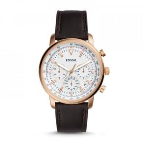 FOSSIL FS5415 Goodwin Chronograph Brown Leather
