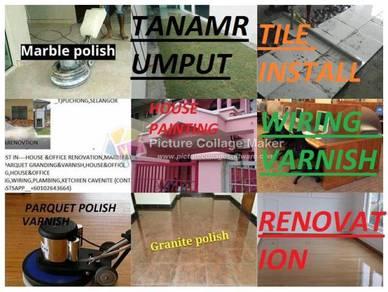 Vinly Laminet Marble Parquet Polish Install