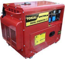 Tokai Diesel Generator(Low Noise)5 KVA (JAPAN)