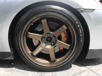 Te37 ultra for gtr35 r35 face 4 deep offset