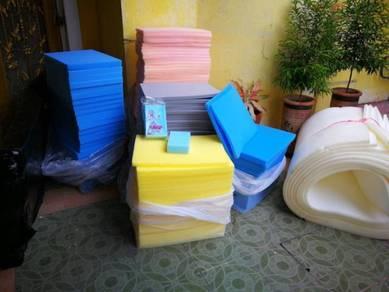 Sponge soft & hard for cushion & washing