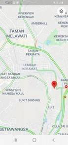 Vacant Residential Land For Sale Taman Sri Keramat Kuala Lumpur