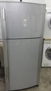 Big Sharp Fridge Refrigerator Peti Freezer Recon