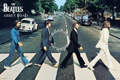 Poster BEATLES ABBEY ROAD