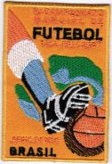 1950 4th FIFA World Cup Brazil Football Patch