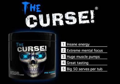 Curse Pre Workout (Vein Urat Tenaga Otot Muscle