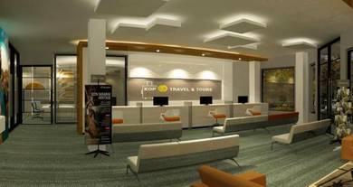 3d interior dan exterior house,office,shop,kiosk