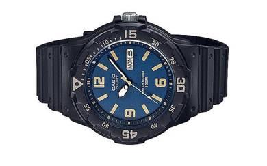 Casio Men Analog Rubber Sports Watch MRW-200H-2B3V