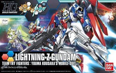 Bandai HGBF-040 lightning Z Gundam HG ZETA 1/144