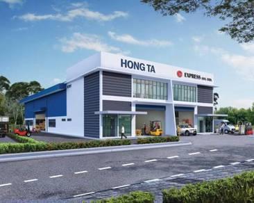 Kulim New 2 Storey Semi-D Light Industrial Factory