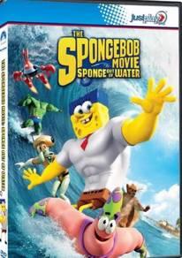 DVD Movie Spongebob Movie Sponge Out of Water