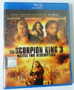 Blu-ray The Scorpion King 3 Battle For Redemption