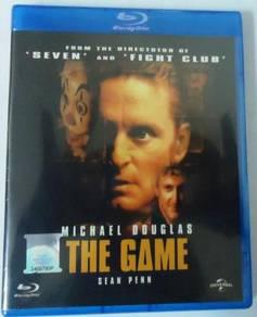 Blu-ray THE GAME Michael Douglas Sean Penn