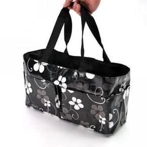Waterproof Mummy Organizer Baby Diaper Flower Bag