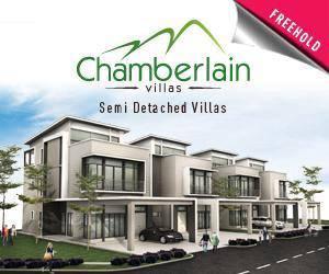 Chamberlain Villas Chateau Garden, Ipoh