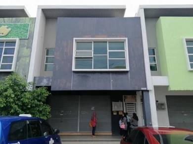 Shoplot untuk disewakan ground floor dan first floor
