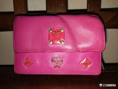 Wallet Leather MCM Munchen