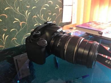 Camera Canon DSLR model 1100D fullkit