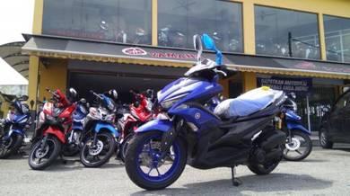 2021 Yamaha NVX 155cc Loan Kedai