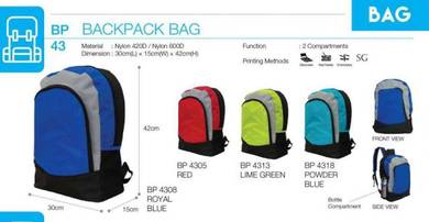 Backpack Bag Royal Powder Blue Red Green BP43XX