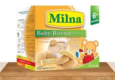 Milna 1 Box Baby Biscuit Baby Food Biskut Bayi
