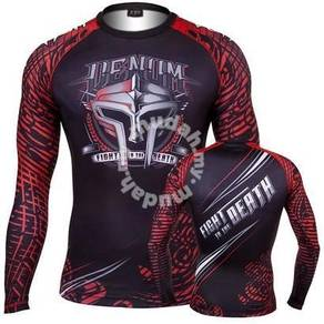 UFC MMA VENUM Fight To Death Compress Shirt ( baju