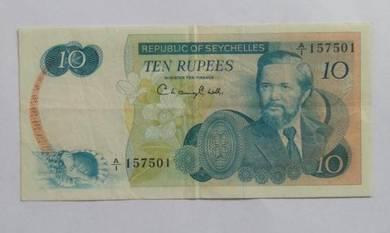 Seychelles 20 rupees 1976 p19 vf