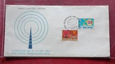 FDC UlangTahun ABU Ke 20 1964-1984