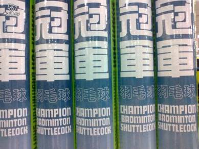 Champion Shuttlecock Bulu Tangkis Badminton