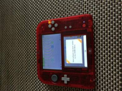 Limited Edition Pokemon Omega-Ruby Red Nintendo 2D