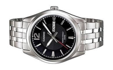 Casio Men Date Stainless Steel Watch MTP-1335D-1AV