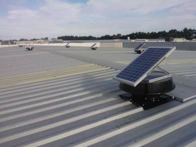 BATU BERENDAM BUKIT BERUANG Solar Roof Ventilator