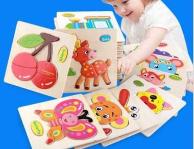 3D Kids Wooden Puzzle