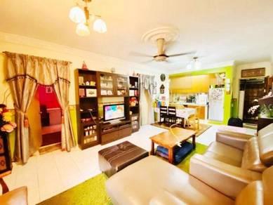 RENOVATED Apartment Subang Suria Bestari U5 Shah Alam HARGA NEGOO LAGI