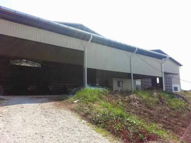 Factory WareHouse 18,000sf At Kundang near Latar Highway ,Selangor