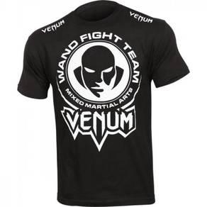 UFC MMA Venum Black Wand (SLim Fit Elastic shirt)