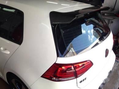 Volkswagen vw Golf mk7 Carbon spoiler