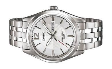 Casio Men Date Stainless Steel Watch MTP-1335D-7AV