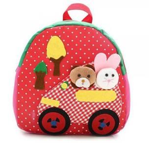 Kids Lovely Zoo Cute Kindergarden Backpack Bag
