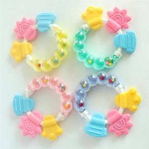 2 In 1 Baby Rattle Teether